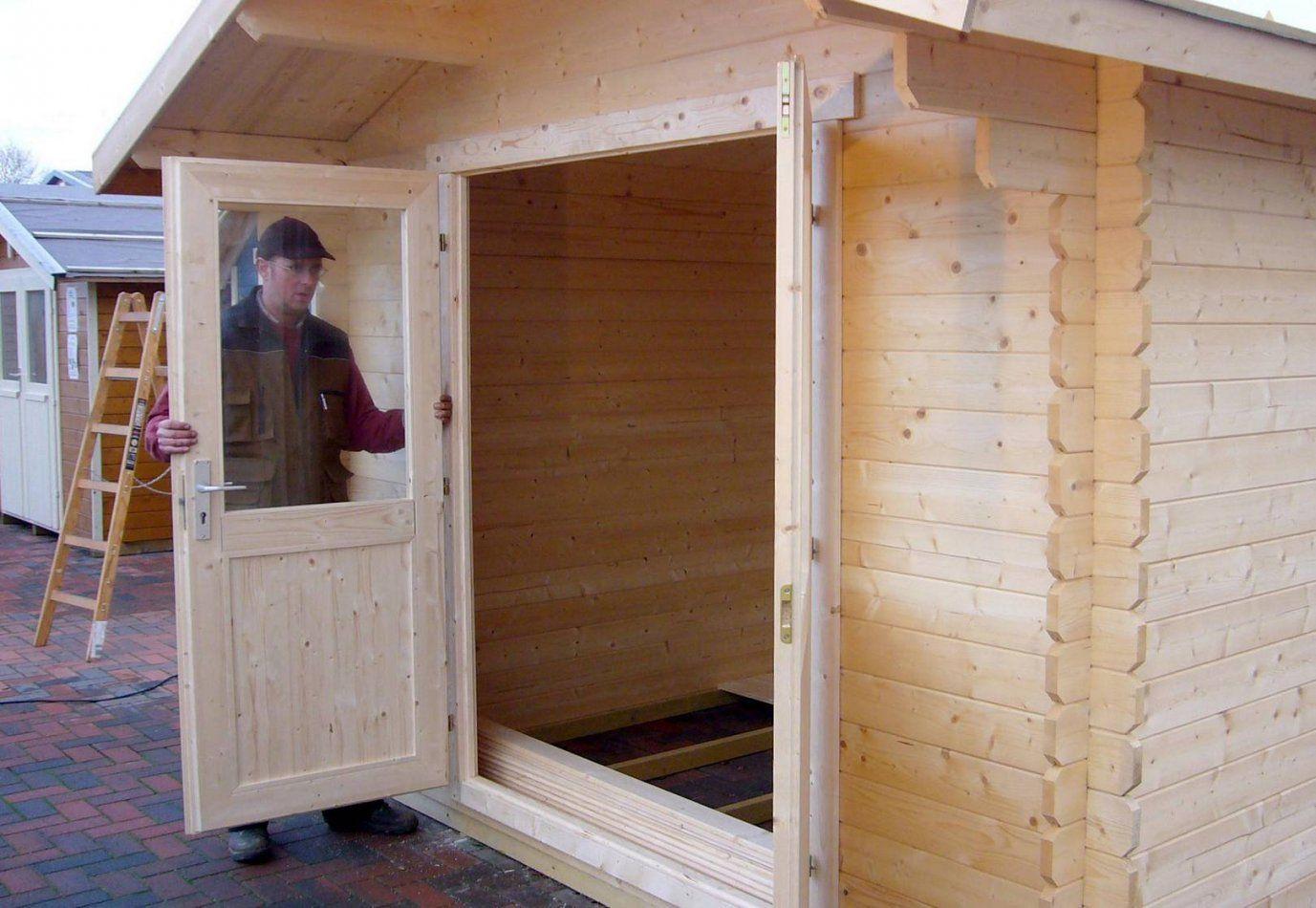 Gartenhaus Fenster Bauen Pj84 – Hitoiro von Dusche Im Gartenhaus Einbauen Photo