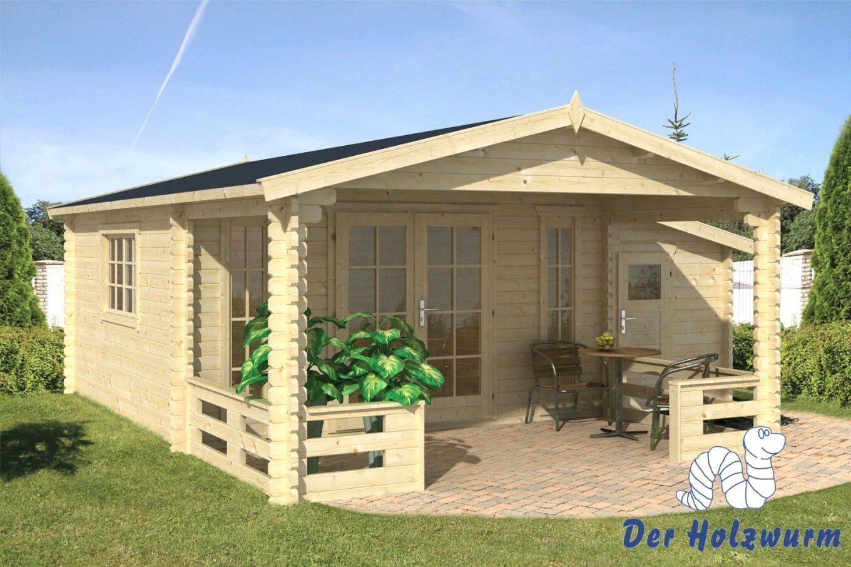 Gartenhaus Holz Polen Mit Moderne Terrasse Und Balkon Garten Idee von Gartenhaus Mit Terrasse Aus Polen Bild