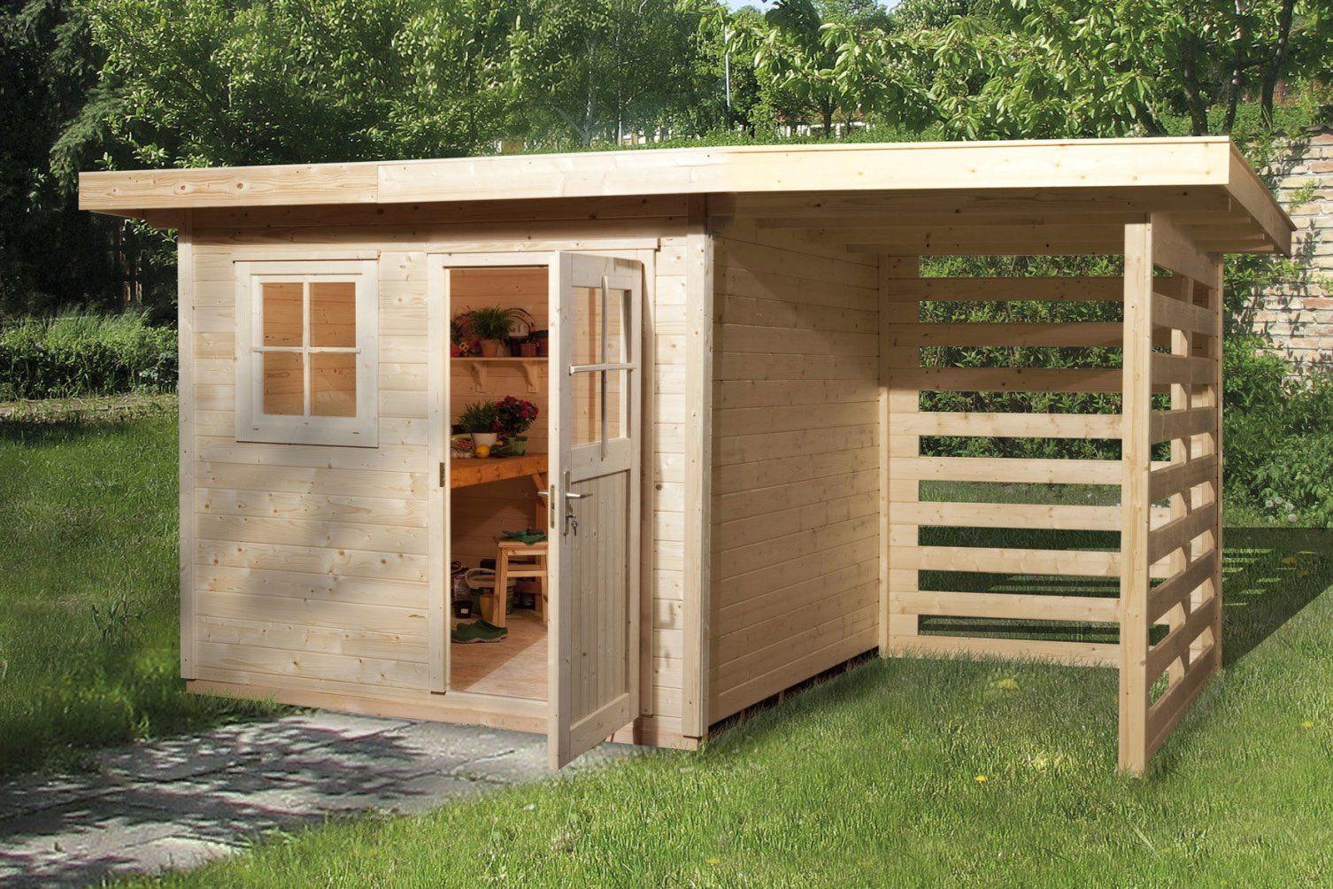 Gartenhaus Mit Pultdach Selber Bauen Gartenhaus Gerätehaus Modern von Gartenhaus Modern Selber Bauen Bild