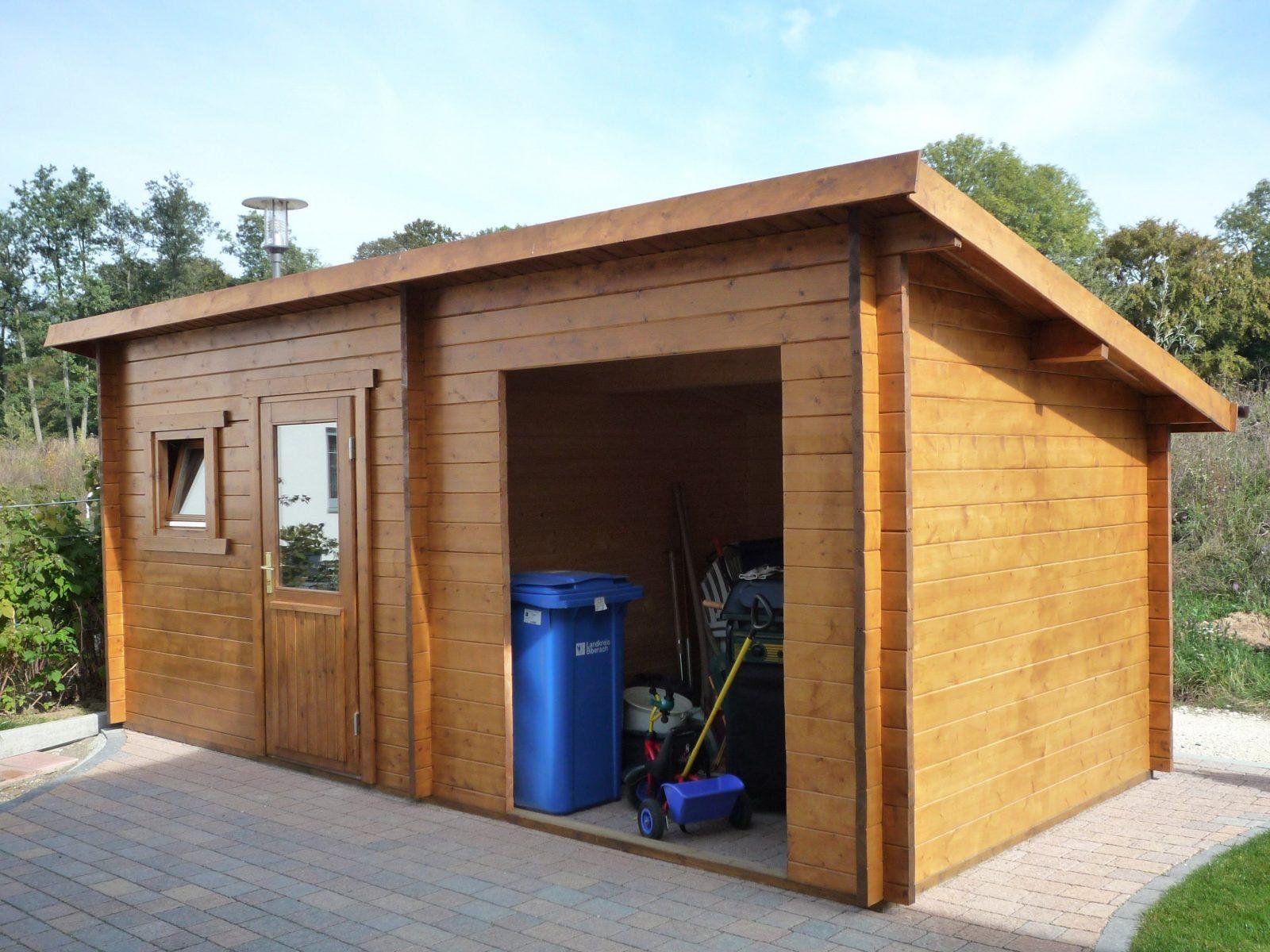 Gartenhaus mit pultdach selber bauen gartenhaus ger tehaus for Gartenhaus modern selber bauen