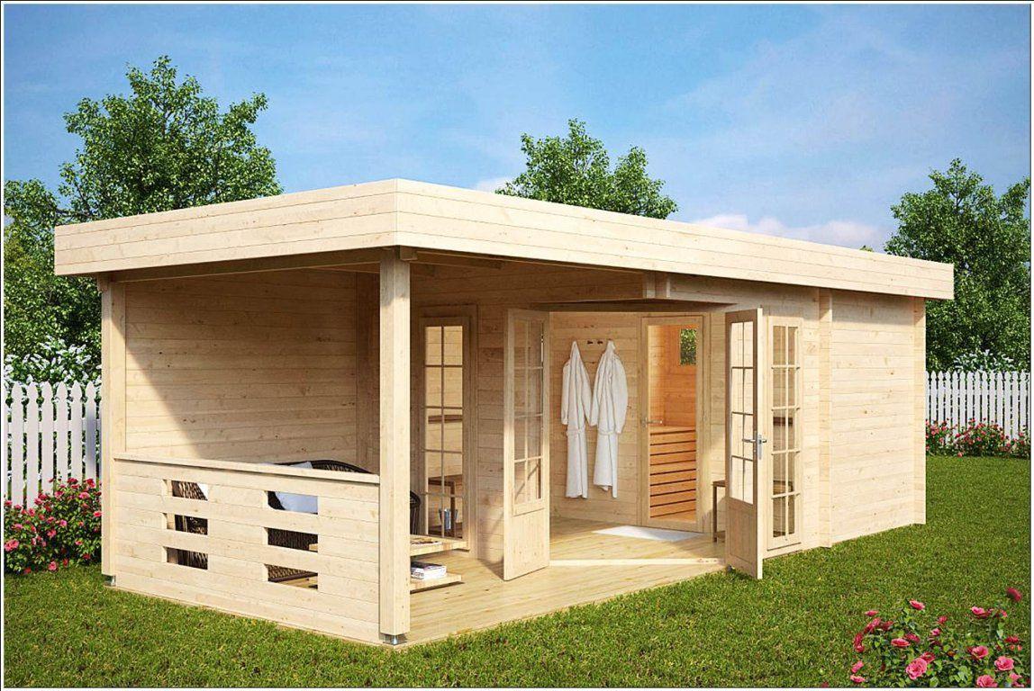 Gartenhaus Mit Sauna Und Dusche  Home Referenz von Dusche Im Gartenhaus Einbauen Bild