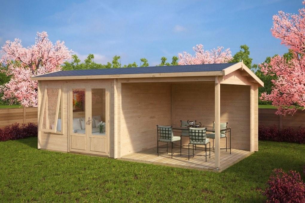Gartenhaus mit terrasse aus polen carprola for tolle - Gartenhaus aus polen ...