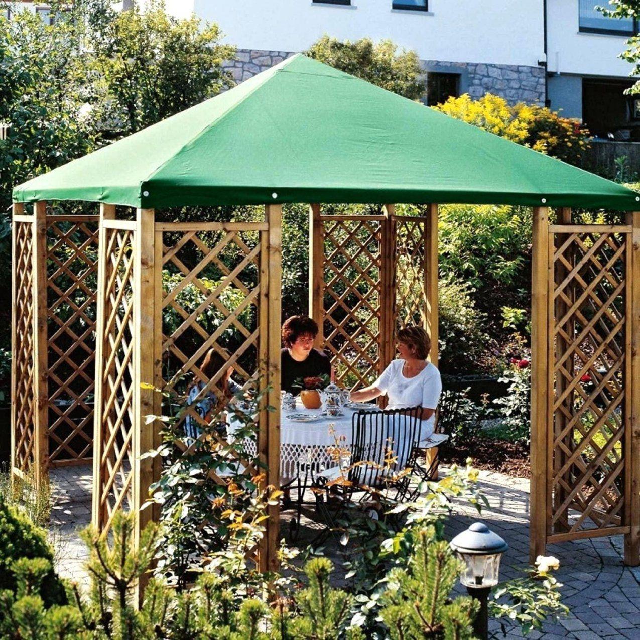 Gartenlaube Holz Selber Bauen Worauf Achten Arth Aus Gartenhaus von Gartenpavillon Selber Bauen Anleitung Bild