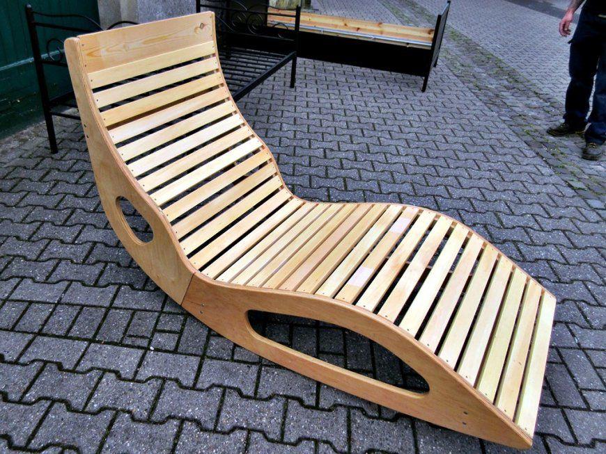 Gartenliege Holz Geschwungen Bauanleitung  Ambiznes von Schaukelliege Holz Selber Bauen Photo