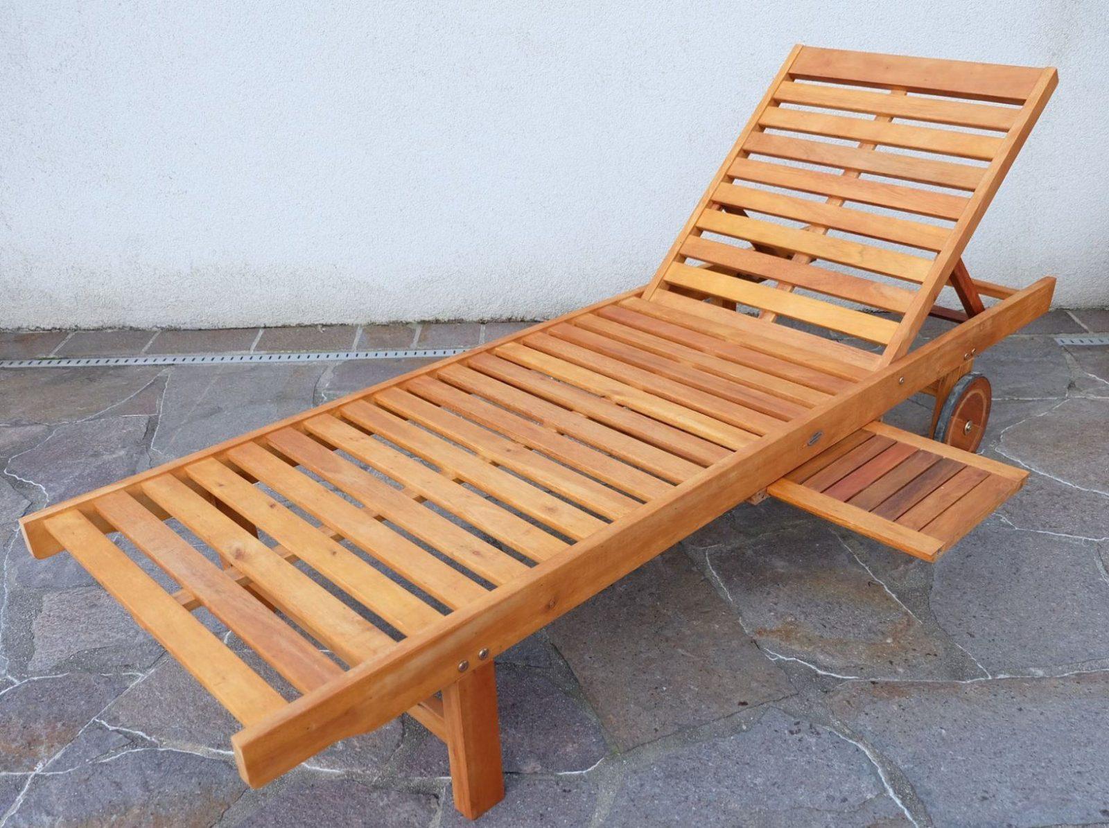 Gartenliege Holz Selbst Gebaut von Schaukelliege Holz Selber Bauen Bild