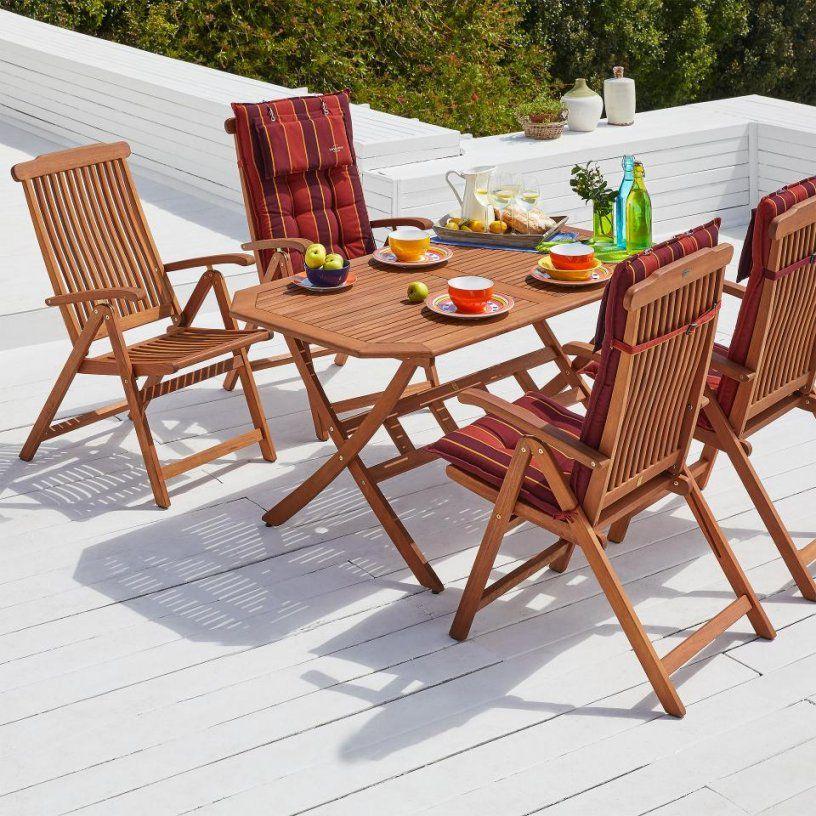 Gartenmöbelset Santa Fe (85X150 4 Stühle)  Dänisches Bettenlager von Angebote Dänisches Bettenlager Gartenmöbel Photo