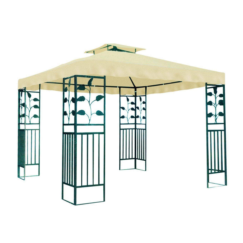 Gartenpavillon  Metallpavillon 3X3 Meter Gartenzelt Pavillon von Pavillon Dach 3X3M Wasserdicht Ersatzdach Photo
