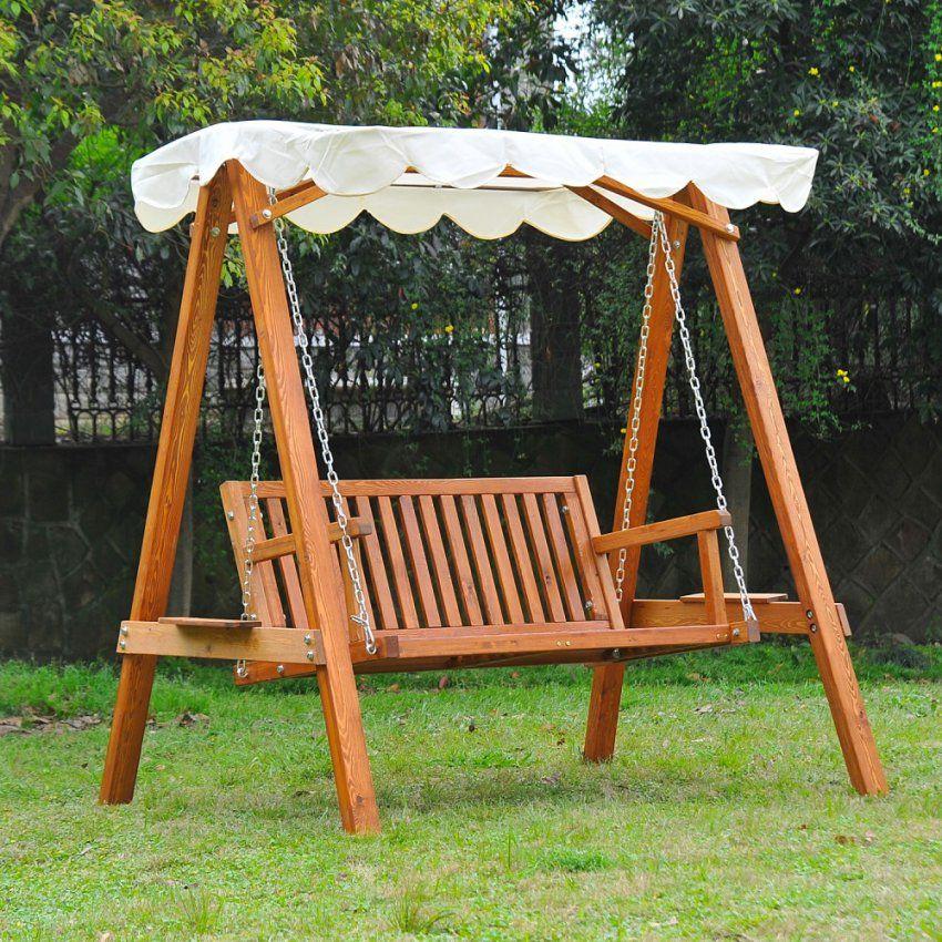 Gartenschaukel Holz Swalif Von Gartenschaukel Selber Bauen Anleitung