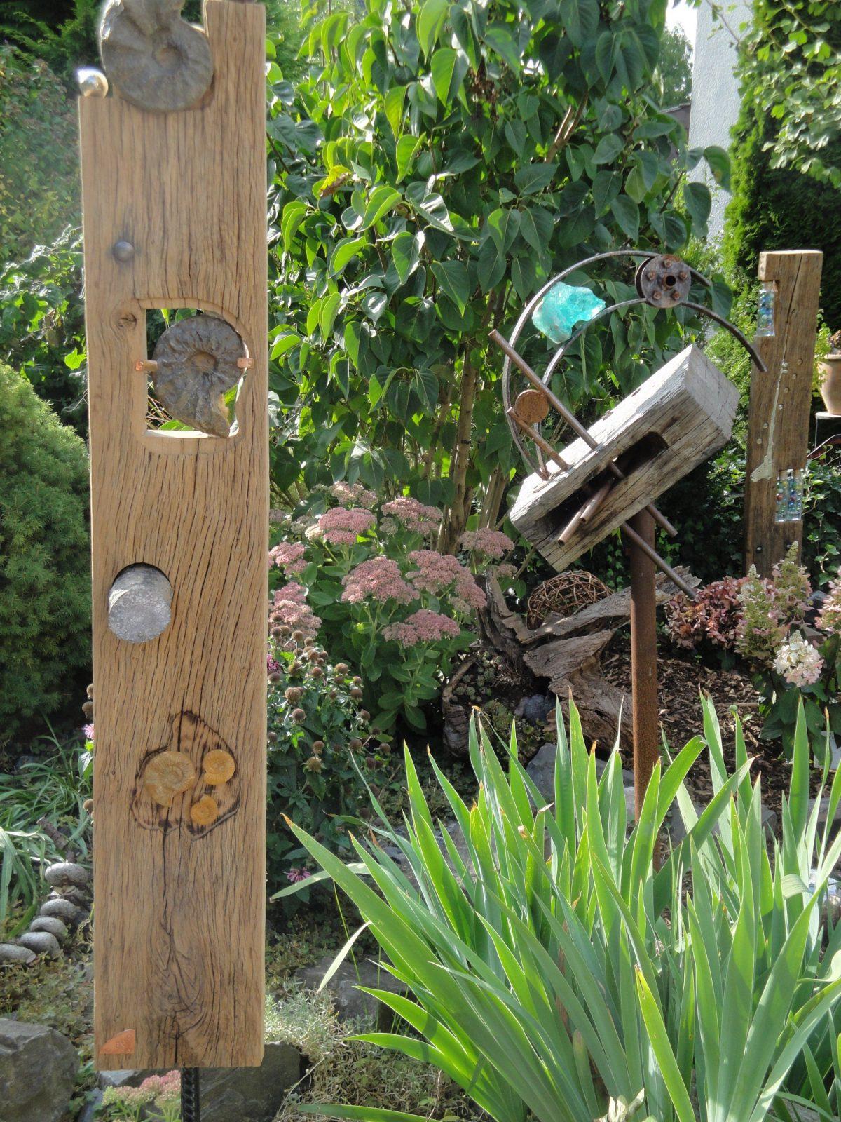 Gartenschmiede – Stelen Und Mehr… von Holzstelen Für Den Garten Photo