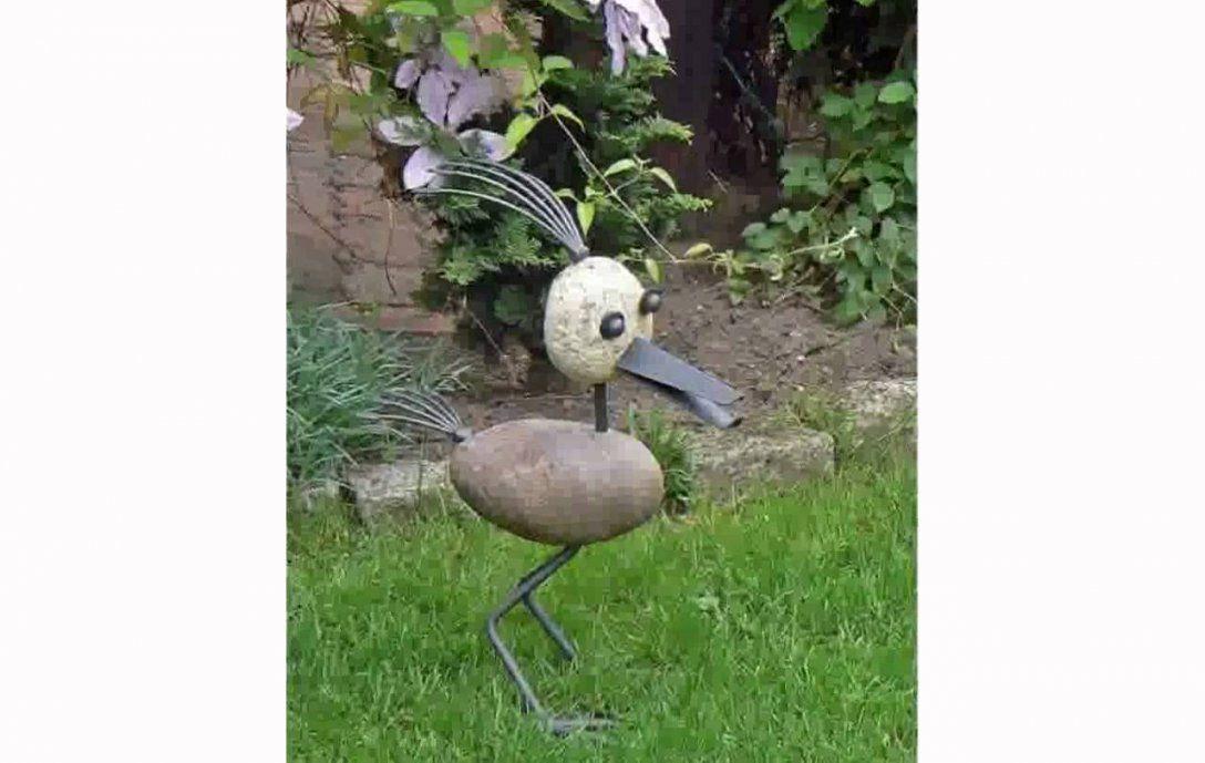 Gartenskulpturen Aus Stein  Youtube von Skulpturen Aus Metall Für Den Garten Bild