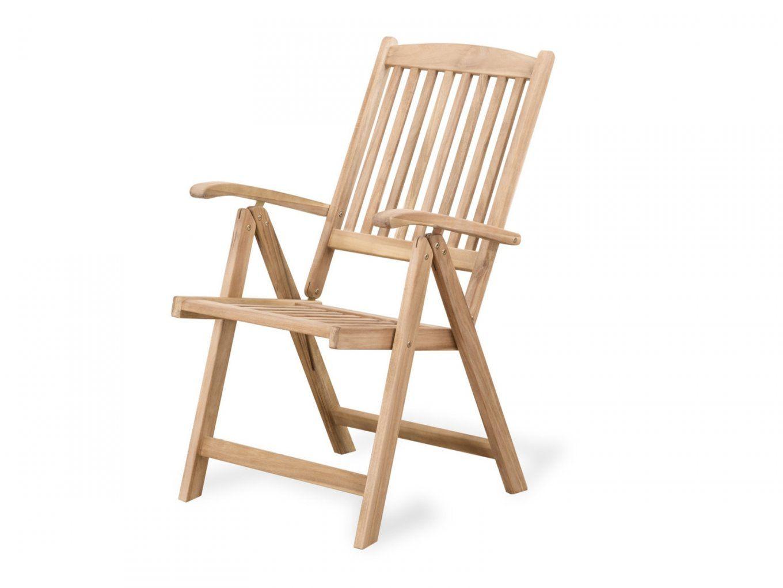 Gartenstuhl Holz Verstellbar Riviera  Belianich von Gartenstuhl Mit Verstellbarer Rückenlehne Photo