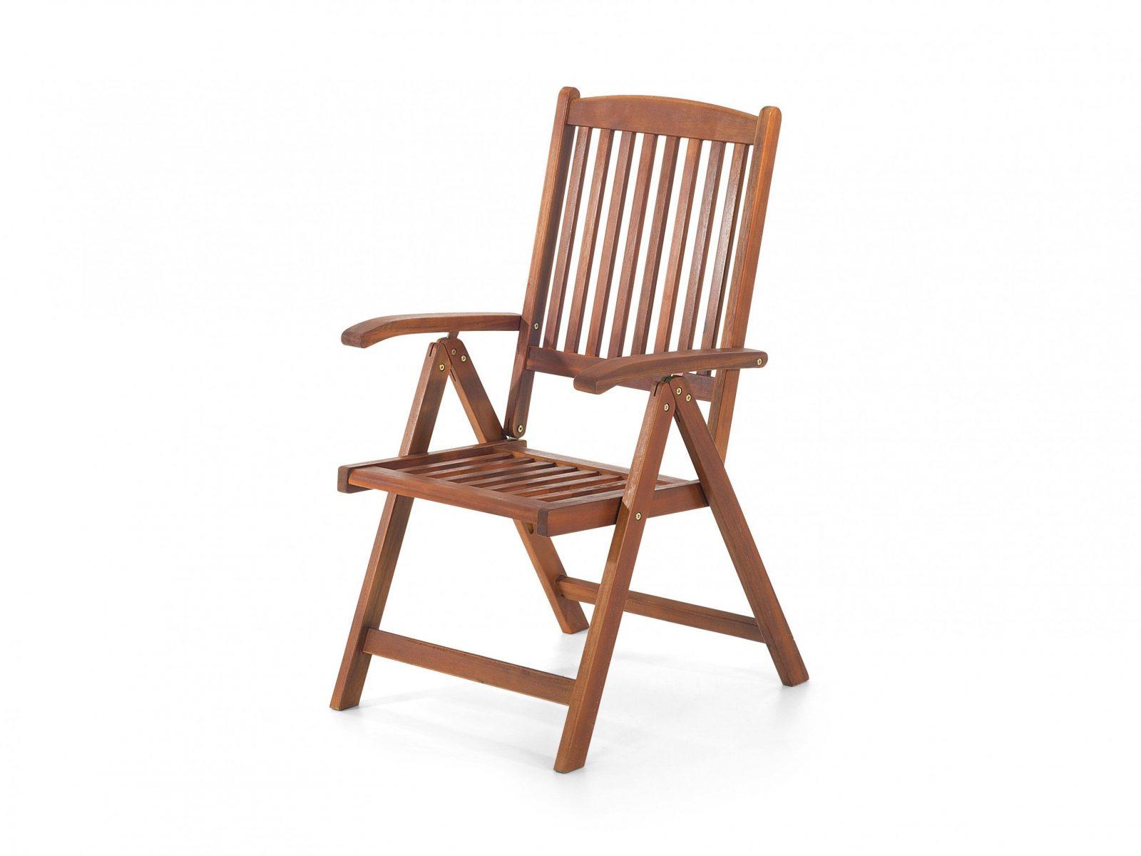 Gartenstuhl Holz Verstellbar Toscana  Kauf Ohne Risiko Auf Rechnung von Gartenstuhl Mit Verstellbarer Rückenlehne Bild