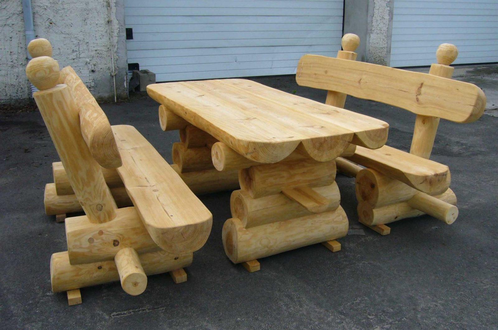 Gartentisch Holz Massiv Rustikal Ist Tolle Konzept Von Gartentisch von Gartentisch Holz Massiv Rustikal Bild