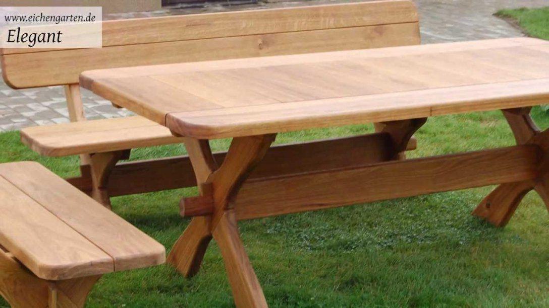 Gartentisch Holz Selber Bauen Mit Holz Gartenmöbel Set Youtube 13 von Bauholz Gartenmöbel Selber Bauen Bild