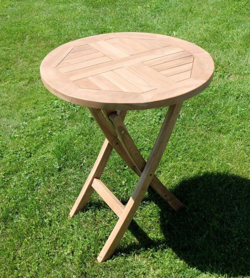 Gartentisch Rund Holz von Gartentisch Rund 60 Cm Photo