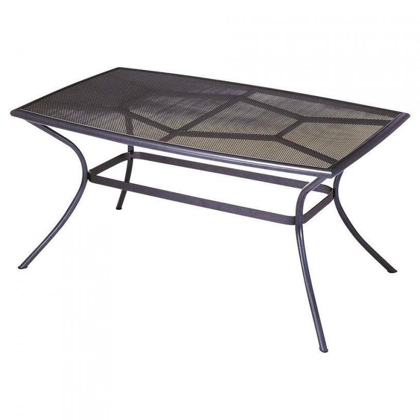 Gartentisch Vega (90X150 Aluminium Anthrazit) Preiswert von Gartentisch 90X90 Dänisches Bettenlager Photo