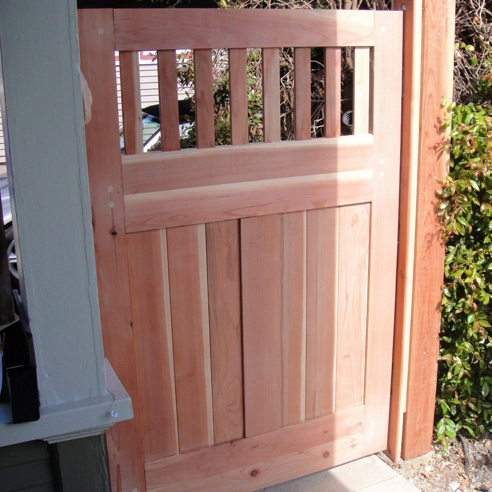 Gartentor Bauen von Gartentor Aus Holz Bauen Bild