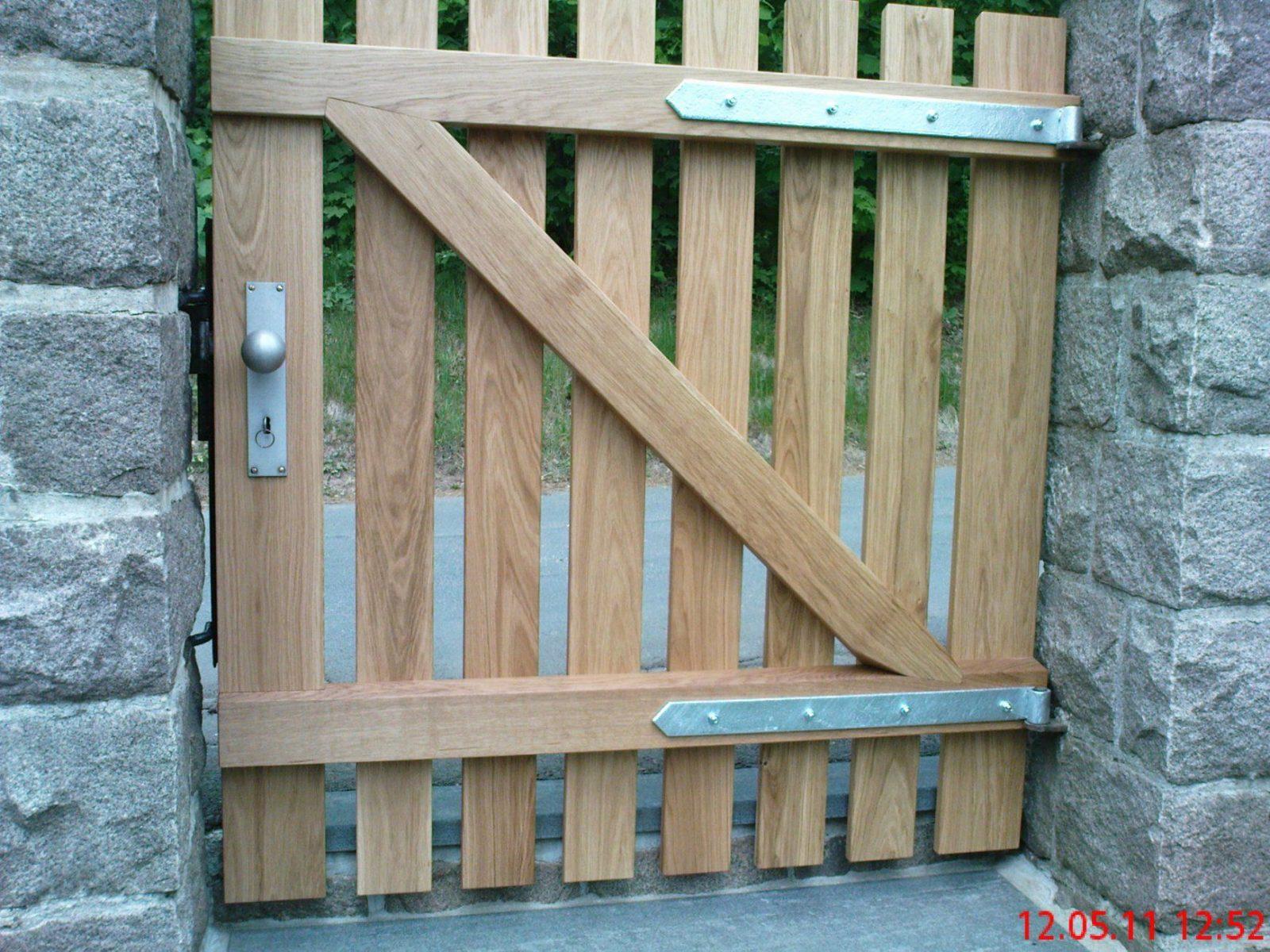Gartenzaun Holz Selber Bauen Modern Neu Gartentor Selber Bauen von Gartentor Holz Selber Bauen Photo