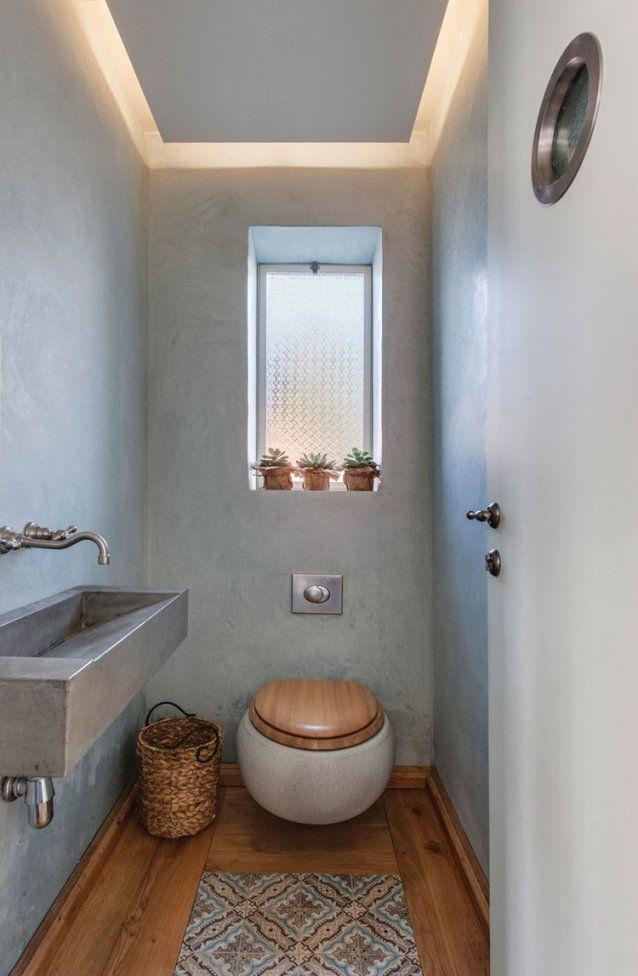 Gäste Wc Gestalten  16 Schöne Ideen Für Ein Kleines Bad von Fliesen Gäste Wc Lösungen Bild