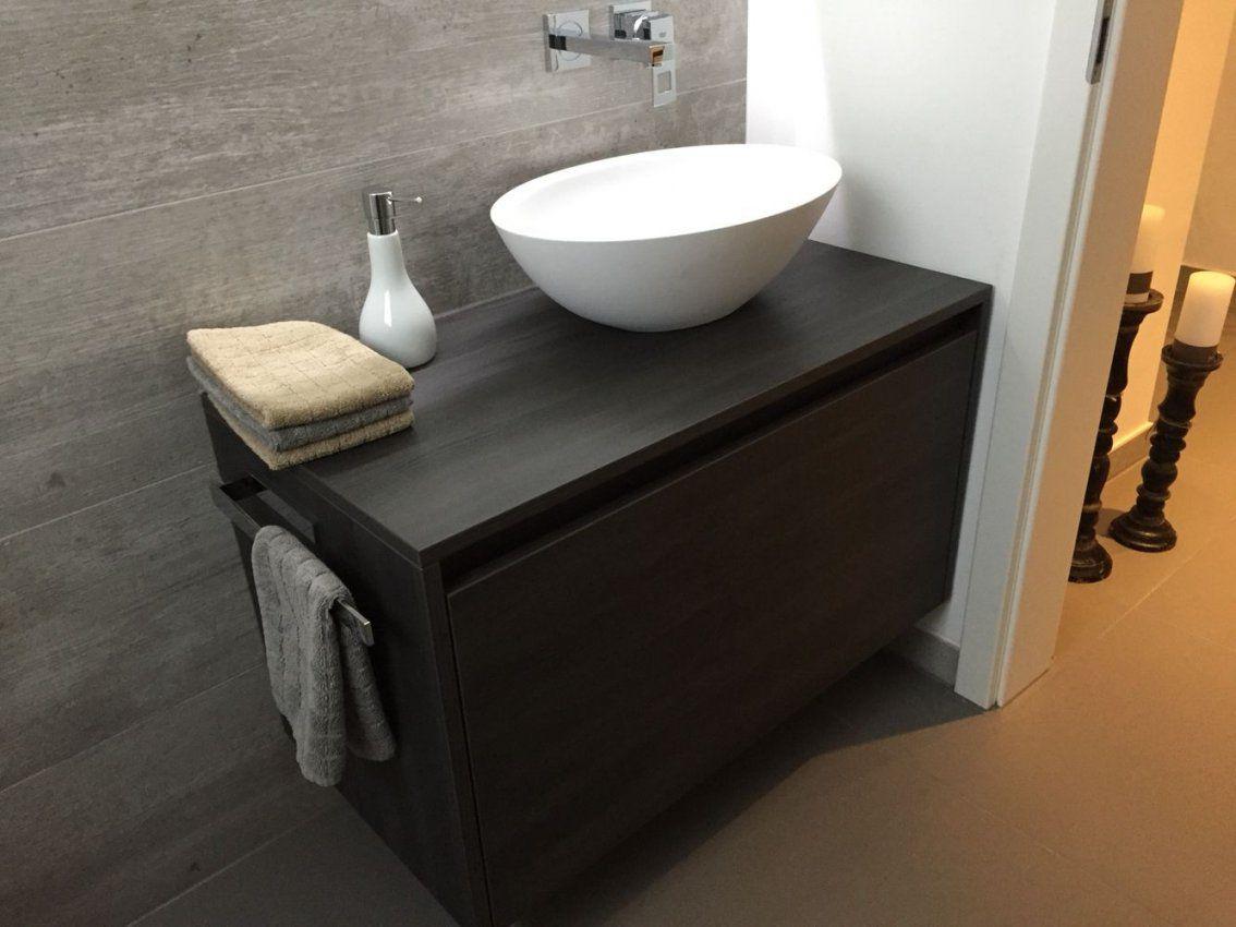 Gäste Wc Unterschrank Nach Maß Gefertigt Inklusive von Waschbecken Aufsatz Mit Unterschrank Photo