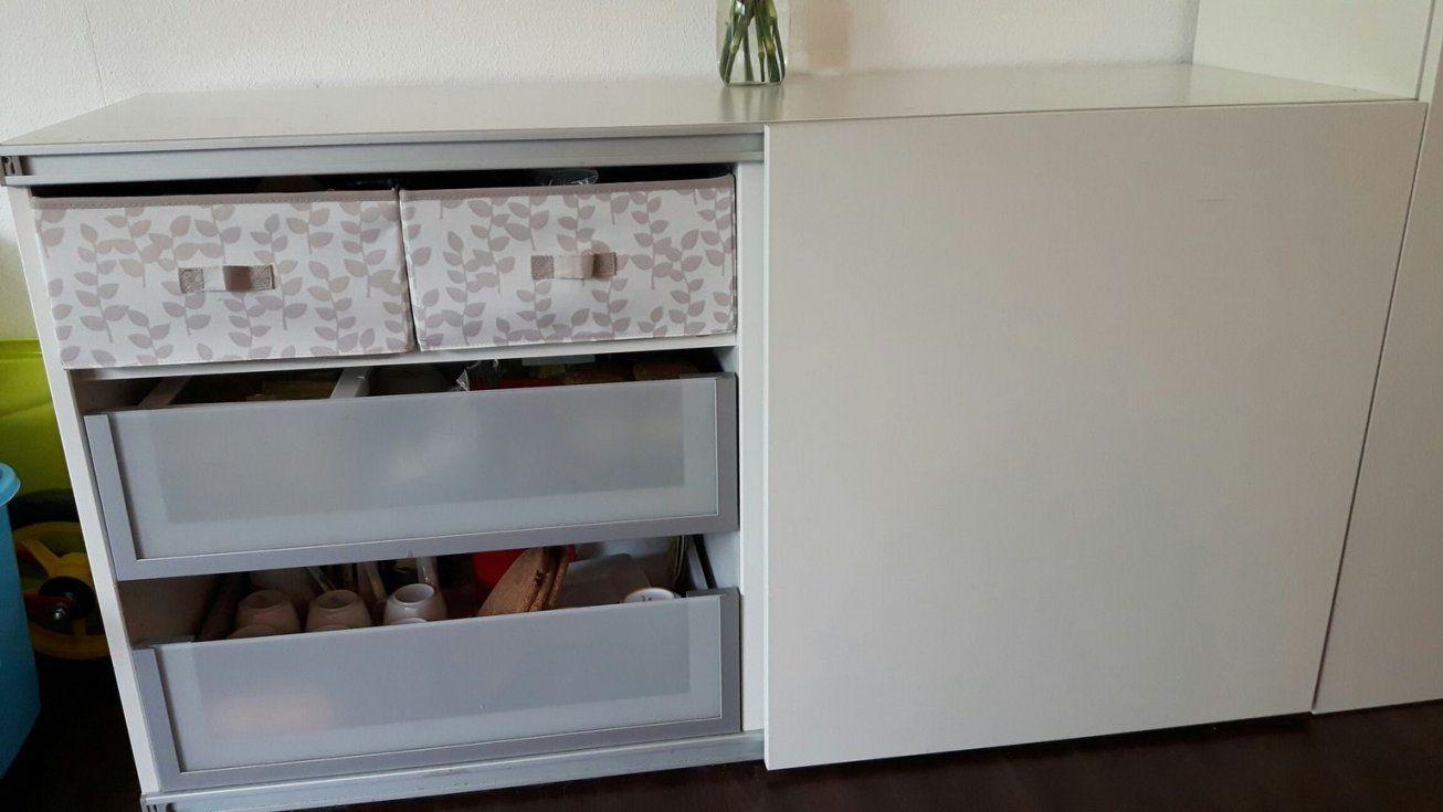 Gebraucht Ikea Bestå Schrank Mit Schiebetür Und Zieher In 76227 von Sideboard Mit Schiebetüren Ikea Photo