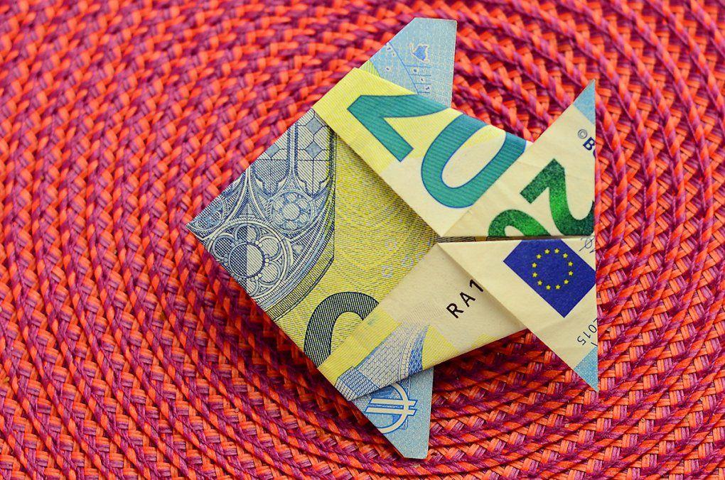 Geldscheine Falten Anleitung Fisch von Fisch Aus Geldschein Falten Bild