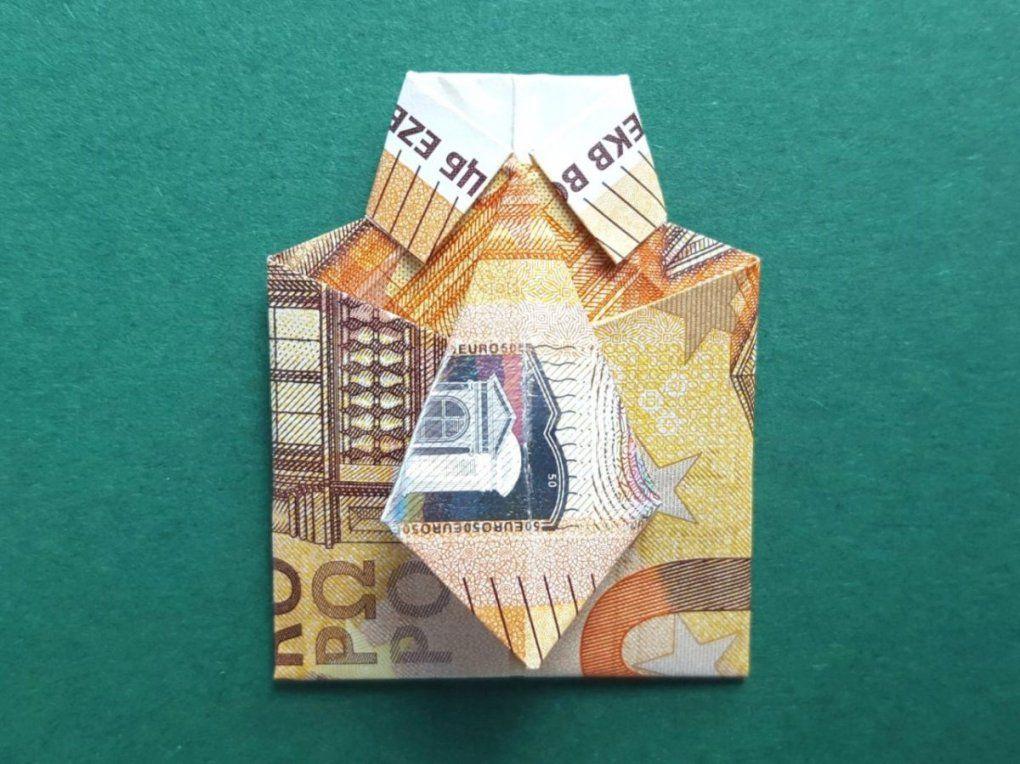 Geldscheine Falten Hemd 50 Euro Neu von Geld Zum Hemd Falten Bild
