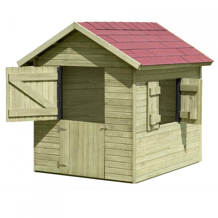 Gerätehaus Holzhaus Gartenhaus Geräteschuppen 180 Avec Avec von Spielhaus Holz Selber Bauen Bild