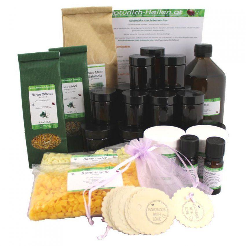 Geschenke Selber Machen Set  Natuerlichheilenat von Lavendel Creme Selber Machen Bild