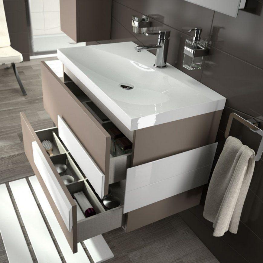 Gewinnen Waschtisch Ideen Badezimmer Waschbecken Unterschrank Nicet von Moderne Waschtische Mit Unterschrank Bild