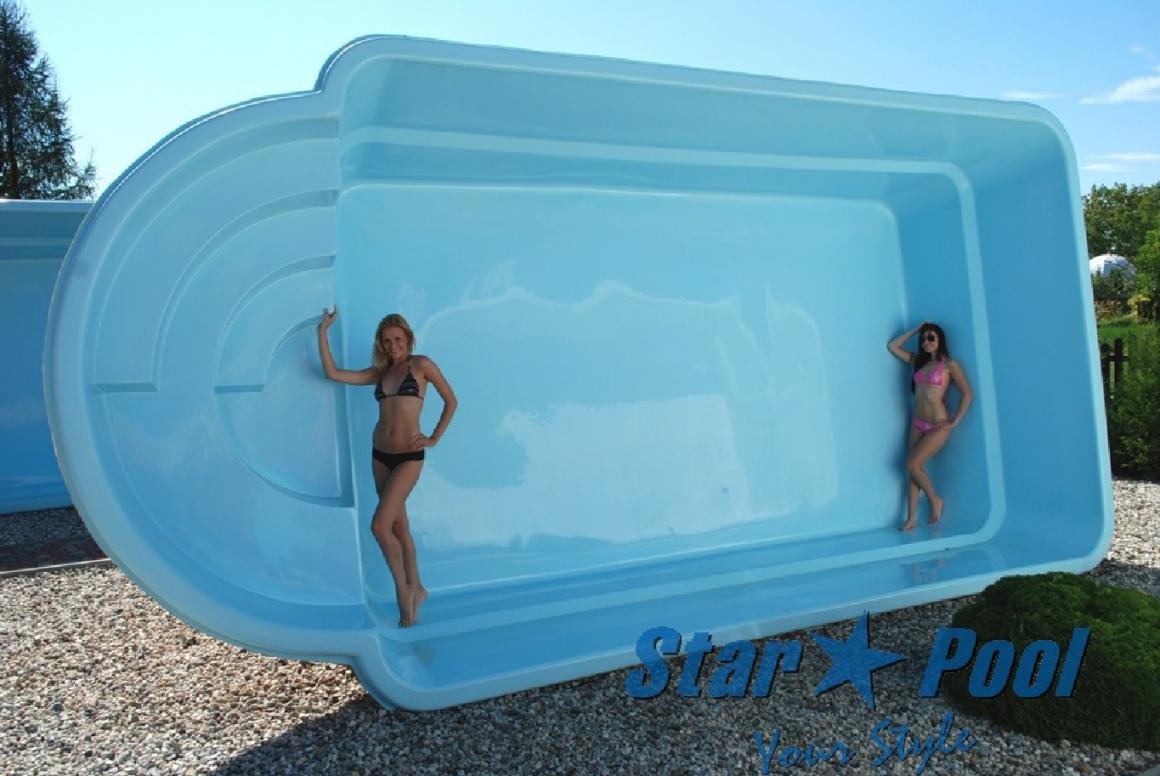 Gfk Pool Aufbau – Häuser Immobilien Bau von Gfk Becken Aus Polen Photo