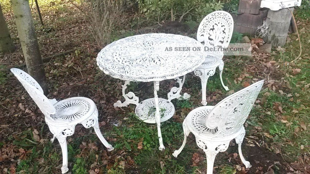 Grand Gartenmöbel Schmiedeeisen Antik Mbm Eisen Ess Tisch Medici von Gartenmöbel Eisen Antik Günstig Bild