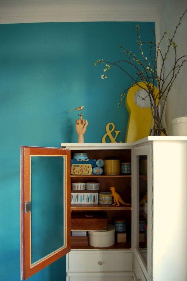 Großartig Petrol Farbe Kombinieren Ideen Schönes Braun Wandfarbe von Schöner Wohnen Farbe Petrol Bild