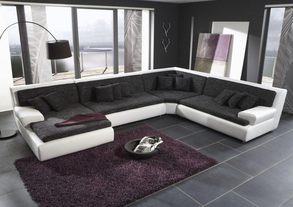 Große Wohnlandschaft U Form Couch von Günstige Wohnlandschaft U Form Bild