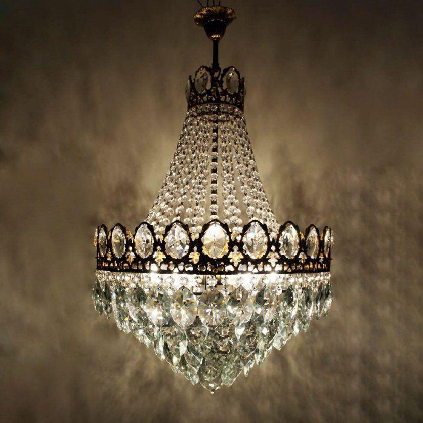 Grosse Antike Kristall Kronleuchter Alte Lampen Luster Gunstig von Kronleuchter Antik Günstig Gebraucht Bild