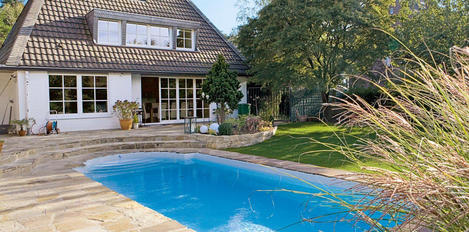 Grundausstattung Für Den Gartenpool  Wohnen von Pool Im Garten Integrieren Bild