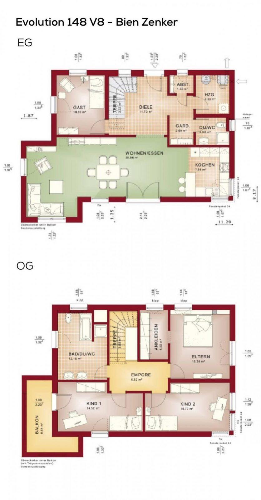 Grundriss Einfamilienhaus Modern Mit Flachdach Architektur Im von Grundriss Einfamilienhaus 150 Qm Photo