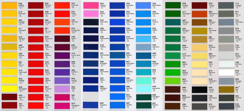 Gute Inspiration Wandfarben Selber Mischen Tabelle Und von Ral Farben Selber Mischen Photo