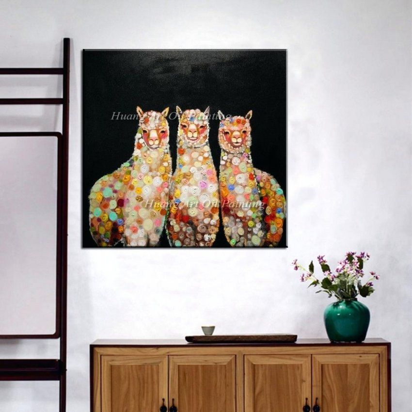 Handgemalte Bilder Auf Leinwand Abstrakt Annette Freymuth Nettis Art von Handgemalte Bilder Auf Leinwand Bild