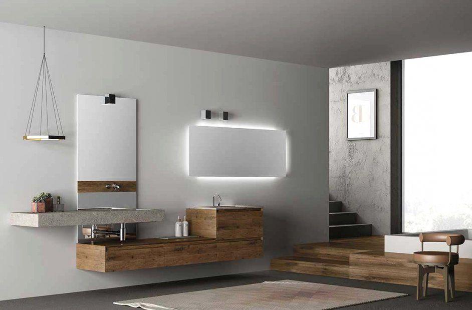 Hängend Holz Modern Lackiert Dess Within Avec Holz Hängend Et von Moderne Waschtische Mit Unterschrank Photo