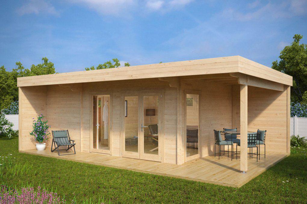 Hansa Lounge Xxl Mit Sauna 22M²  70Mm  8X5  Hansagarten24 von Dusche Im Gartenhaus Einbauen Bild