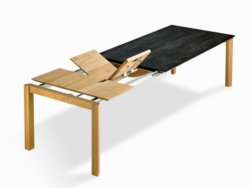 Hausdesign Tisch Zum Ausziehen Selber Bauen Ausziehbarer Esstisch