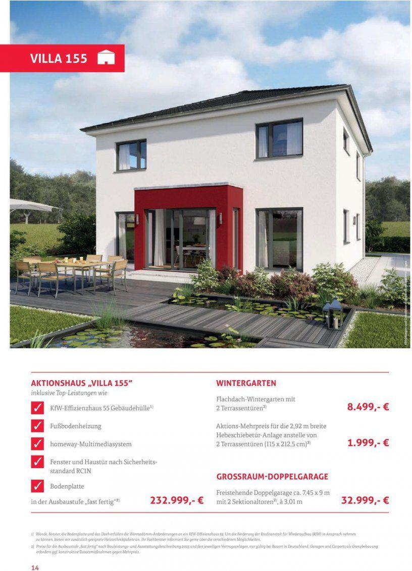 Häuser Und Ausstattung Zu Aktionspreisen  Pdf von Rensch Haus Ausbaustufe Fast Fertig Bild