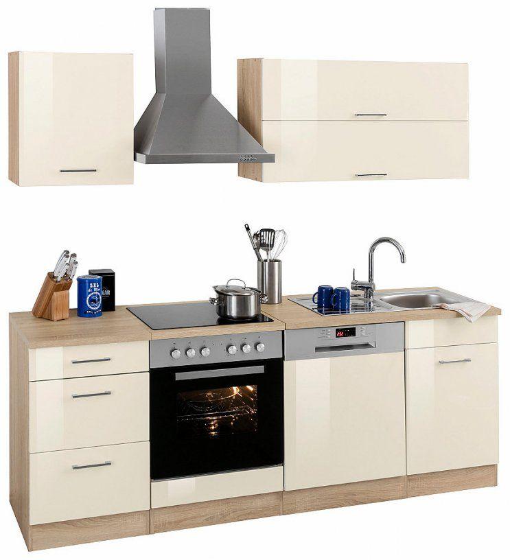 Held Möbel Küchenzeile Graz Ohne Egeräte Breite 220 Cm Online von Küchenzeile 220 Cm Ohne Geräte Bild