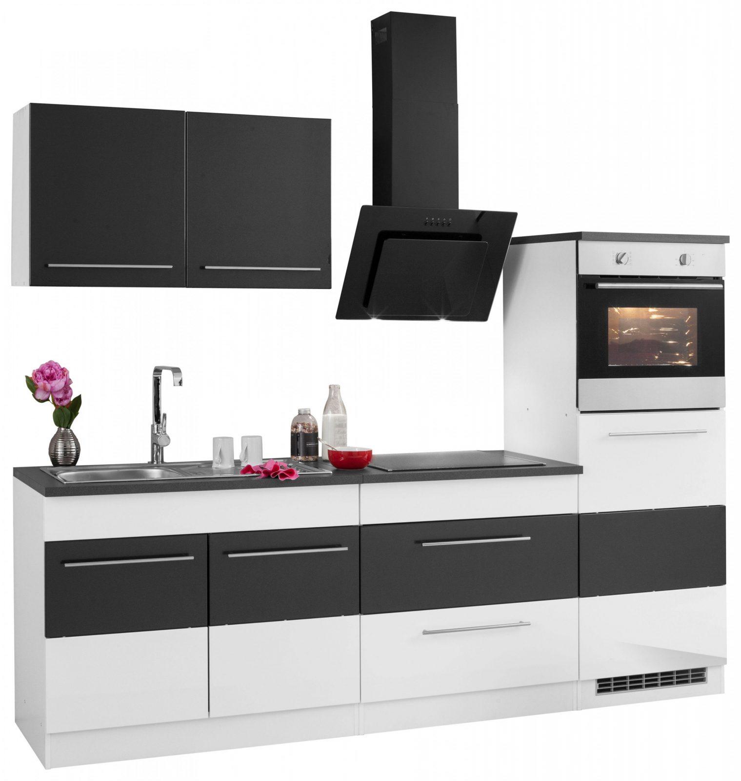 Held Möbel Küchenzeile Mit Egeräten Trient Breite 240 Cm Kaufen von Küche Mit E Geräten Ohne Kühlschrank Photo