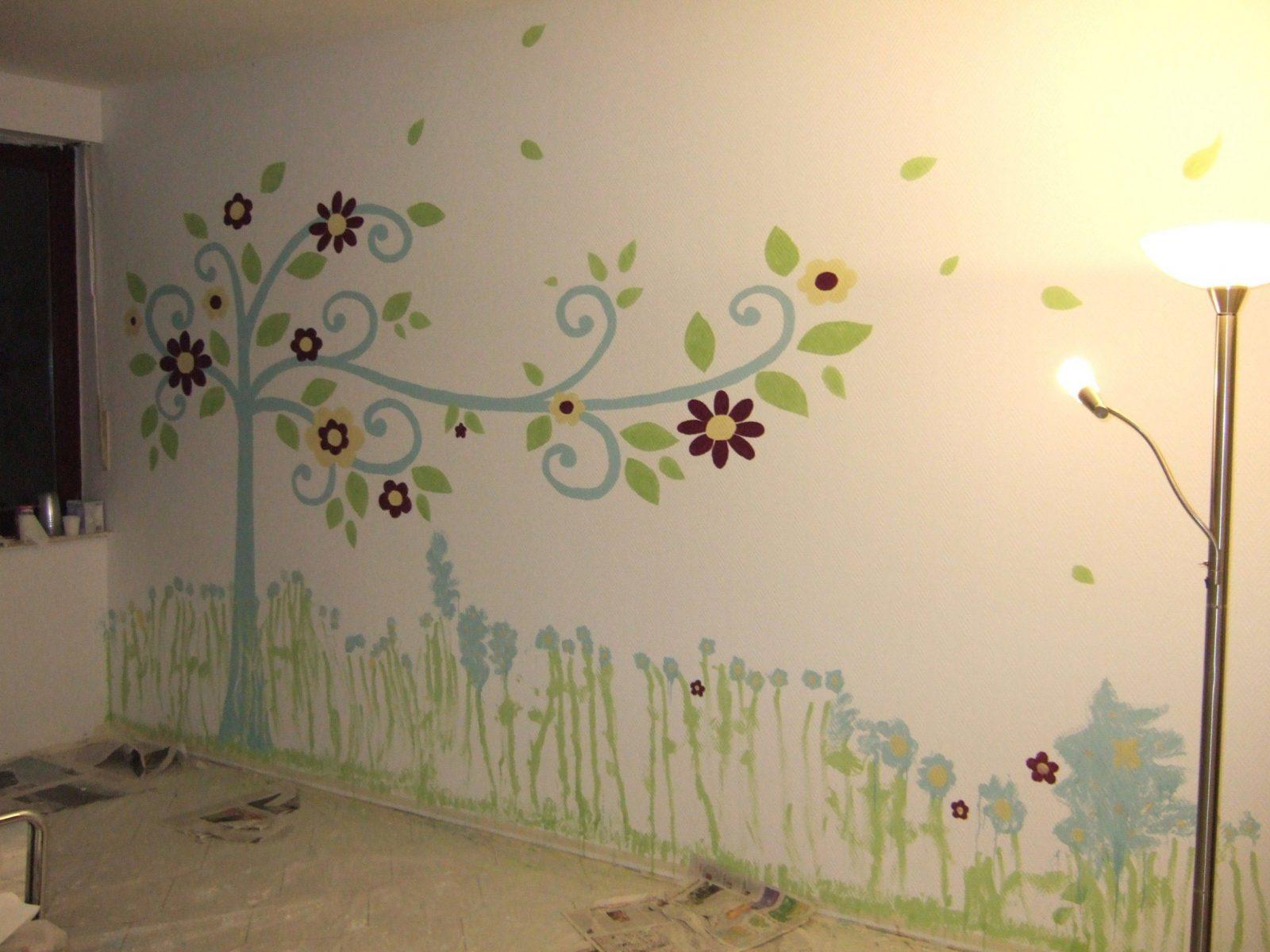 Herausragende Inspiration Wandbilder Selber Malen Vorlagen Und von Wandbilder Selber Malen Vorlagen Bild