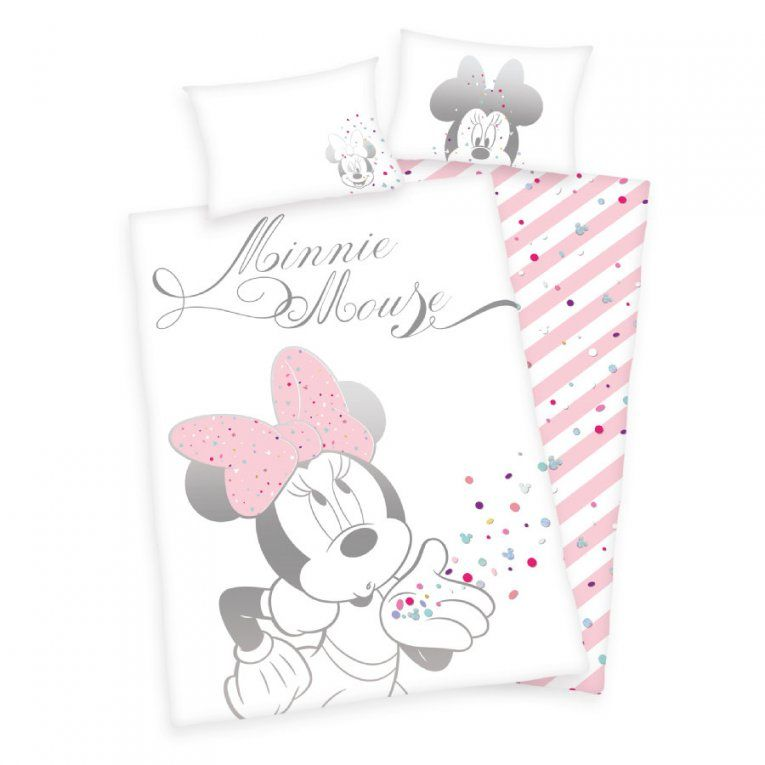 Herding Bettwäsche Minnie Mouse 100 X 135 Cm  Babymarkt von Bettwäsche Minnie Mouse 100X135 Bild