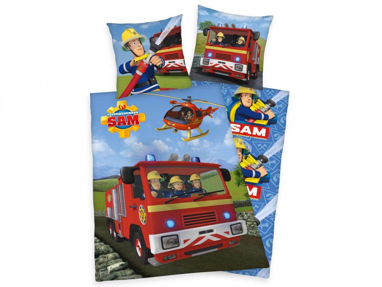 Herding Renforcébettwäsche Feuerwehrmann Sam 135X200 Cm  Lidl von Feuerwehrmann Sam Bettwäsche Lidl Photo