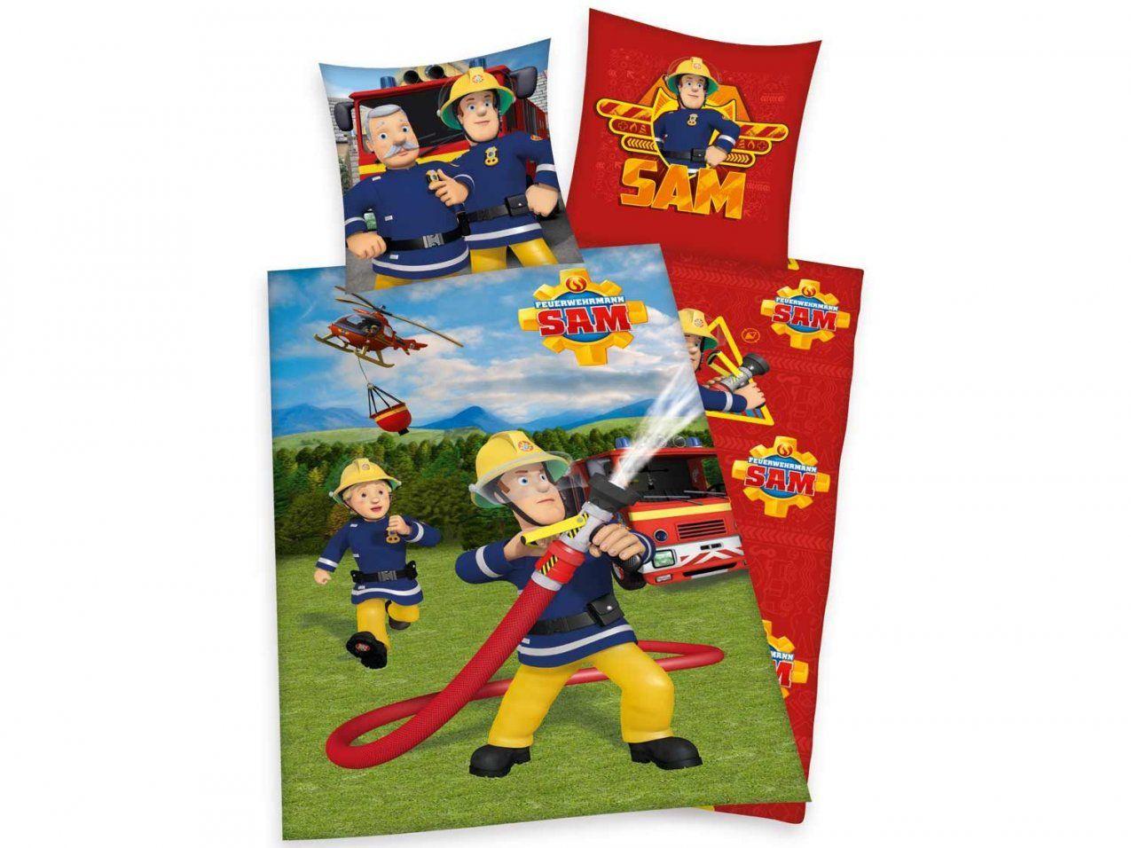 Herding Renforcéwendebettwäsche Feuerwehrmann Sam 135 X 200 Cm von Feuerwehrmann Sam Bettwäsche Lidl Bild
