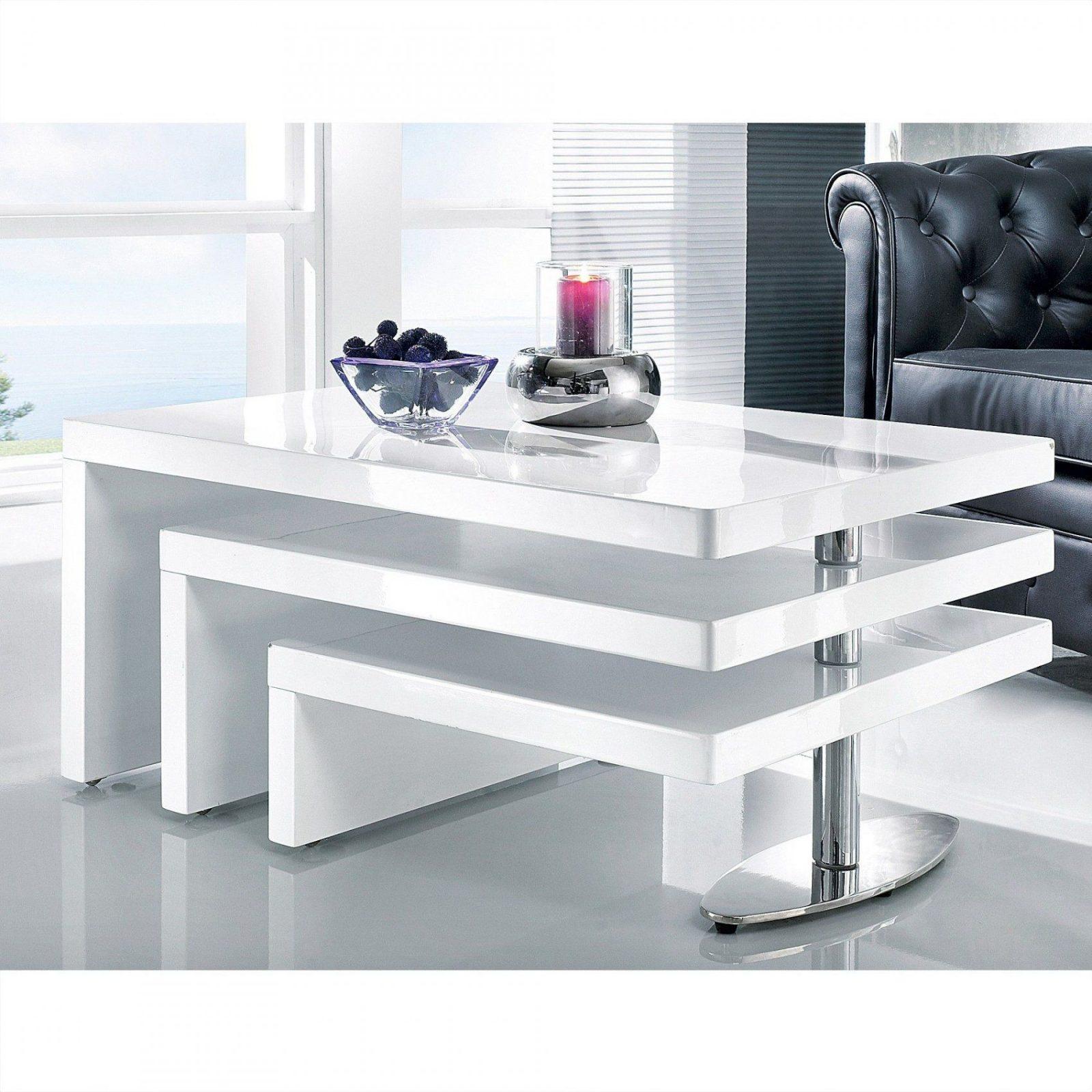 Herrlich Delife Wohnzimmertisch Strike Hochglanz Weiss 140X70 Cm von Moderne Couchtische Weiß Hochglanz Bild